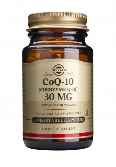 Solgar Coenzyme Q-10 30 mg Vegetable - 30 Capsules